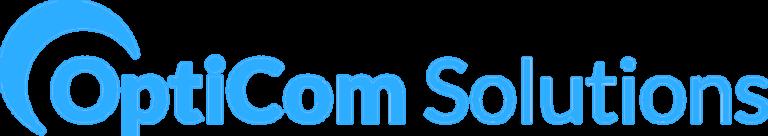 Opticom solutions - logo